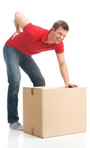 How to avoid the most common moving injuries - a herniated disc