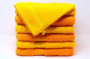 A pile of towels