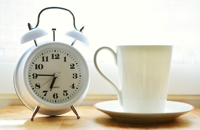 Wake up before dawn to maximize the time you have.