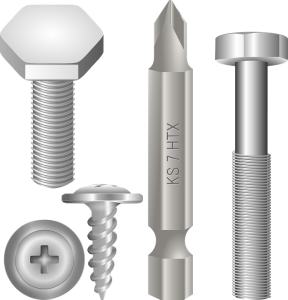 Image of bolts and screws